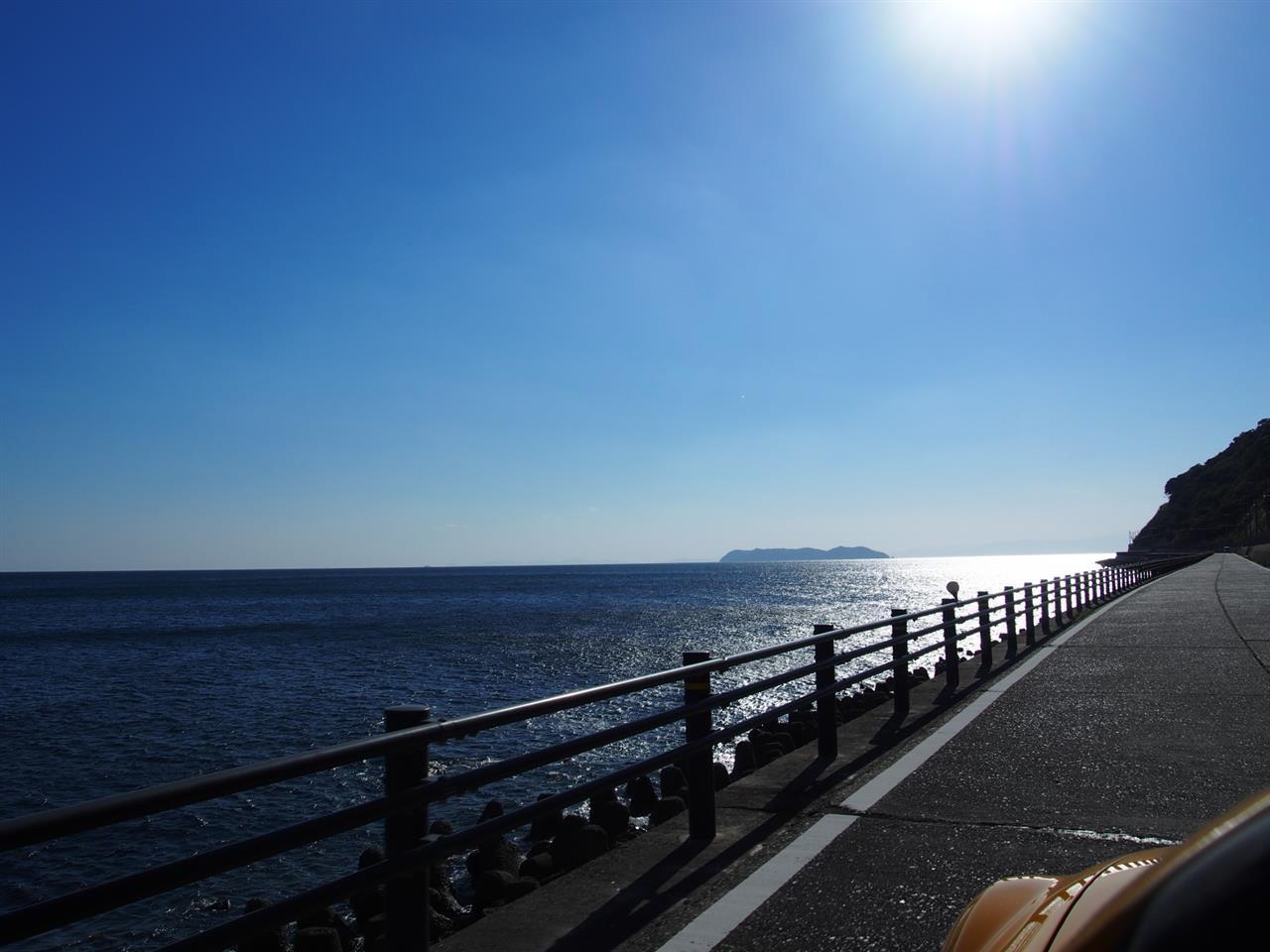 快晴の淡路島サンセットツーリング25
