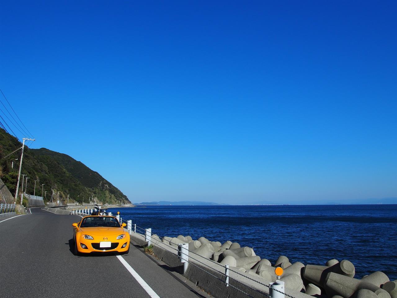 快晴の淡路島サンセットツーリング27