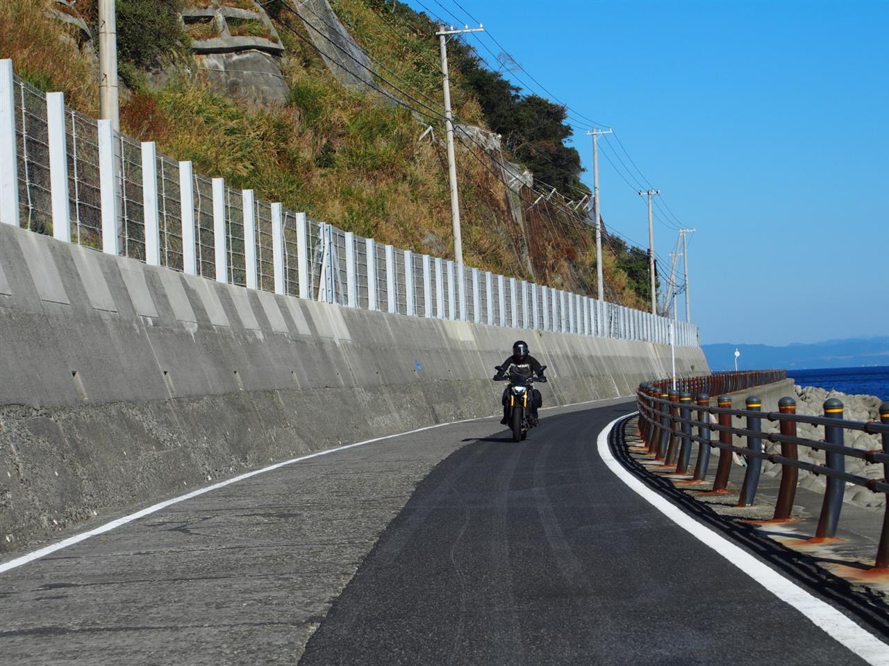快晴の淡路島サンセットツーリング26