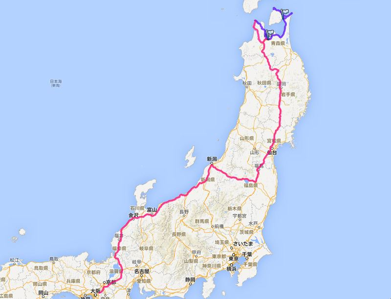 2014GW 東北地方3,300kmの旅 Part2