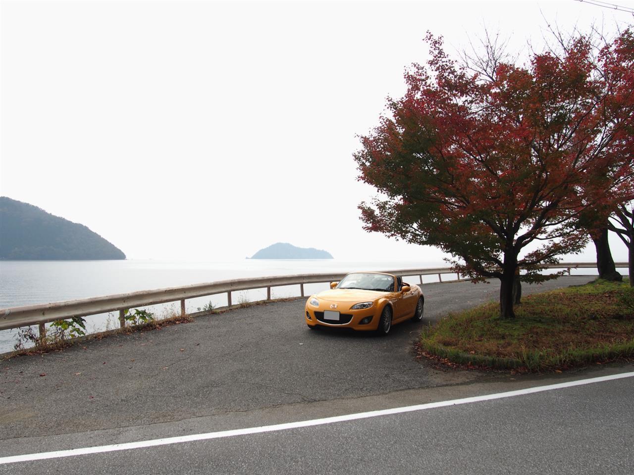 奥琵琶湖紅葉ドライブ 18