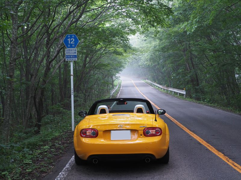 2014夏 東北の日本百名道を巡る旅 3日目