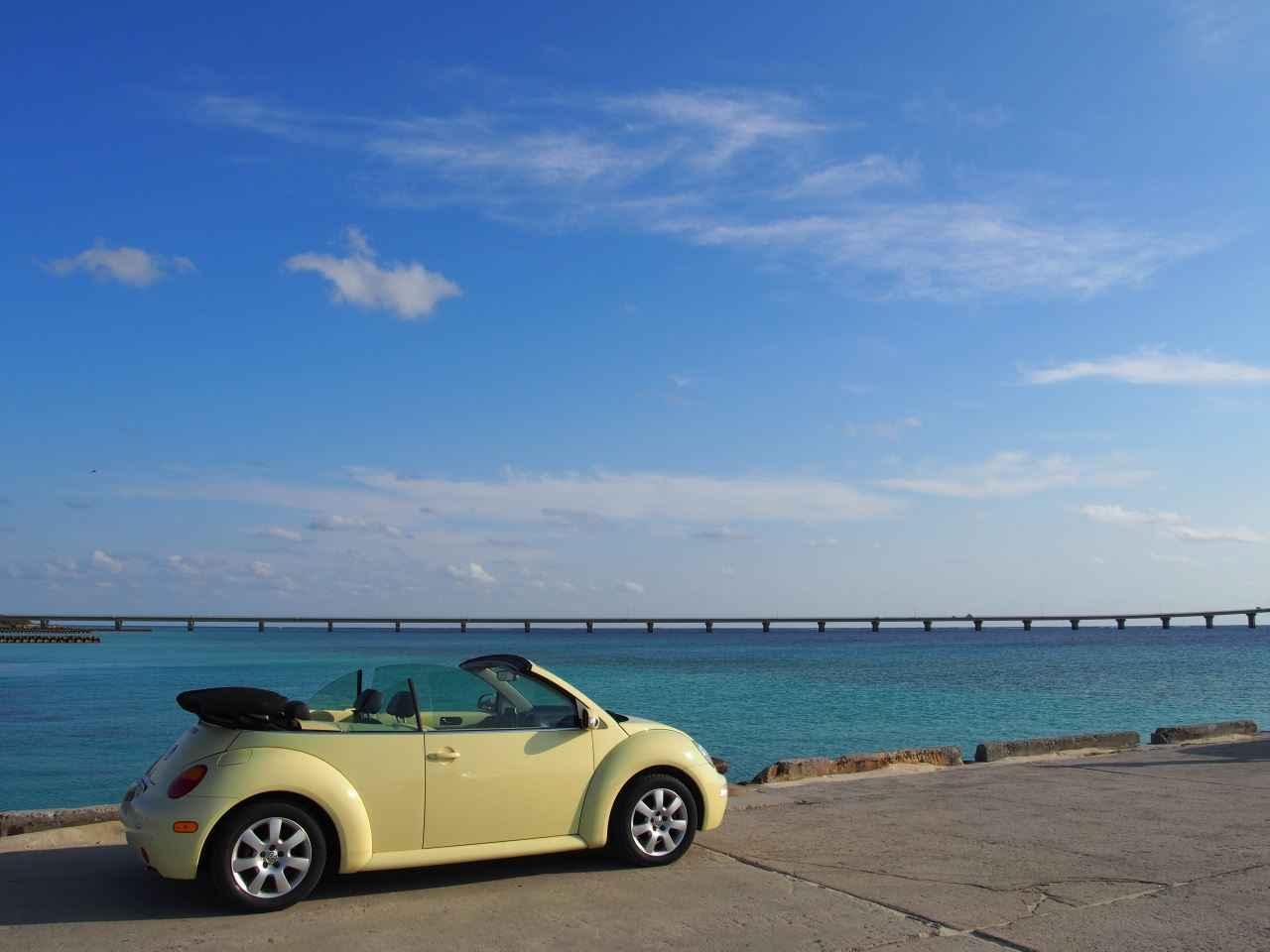 オープンカーで巡る宮古島・沖縄本島の旅 1日目