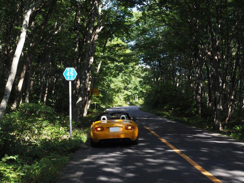 初秋の大山ドライブ