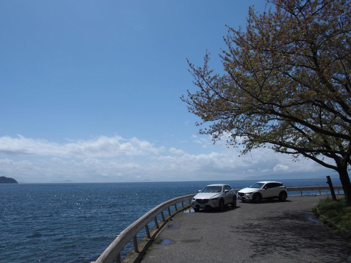 2週連続の奥琵琶湖ドライブ