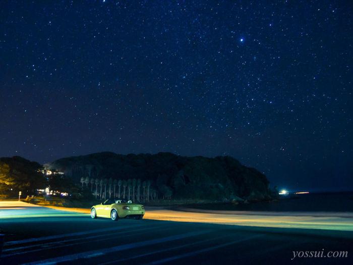 弓ヶ浜の星空
