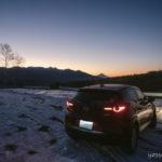 CX-3で行く冬のビーナスラインドライブ(2日目 夜明け編)